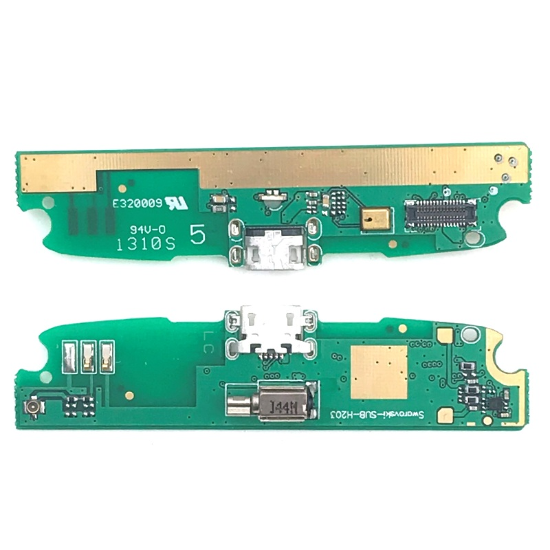 New Microphone Module+USB Charging Port Board Flex Cable Connector Parts For Lenovo S820 Replacement