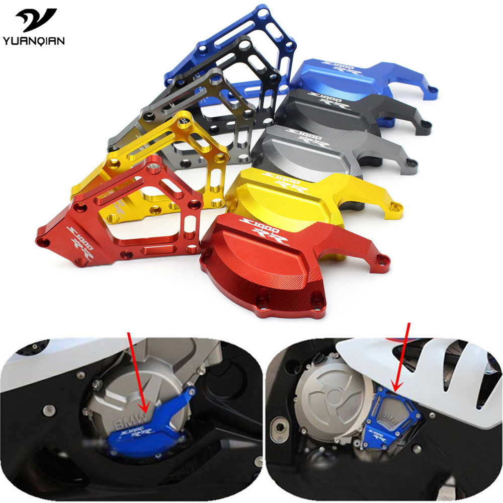 Motorcycle Engine Saver Stator Case Guard Cover Slider Protector for BMW S1000RR HP4 K42 K46 2009 2010 2011 2012 2013 2014 2015 arashi motorcycle radiator grille protective cover grill guard protector for 2008 2009 2010 2011 honda cbr1000rr cbr 1000 rr
