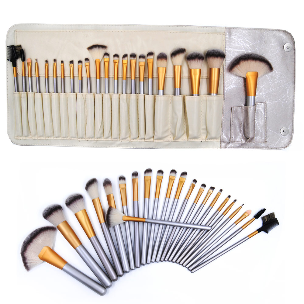 Pro 22Pcs Makeup Brushes Set Cosmetic Powder Foundation Blush Eyeshadow Eyeliner Lip Beauty Make up Brush Tools With Bag