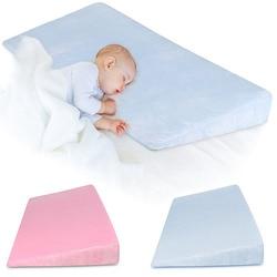 Baby Sleep Positioner Pillow Anti-Reflux High Incline Newborn Baby Crib Wedge 998
