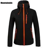 2016 Women Winter Fleece Softshell Jacket Outdoor Sport Mountainskin Waterproof Coats Hiking Skiing Camping Female Jackets