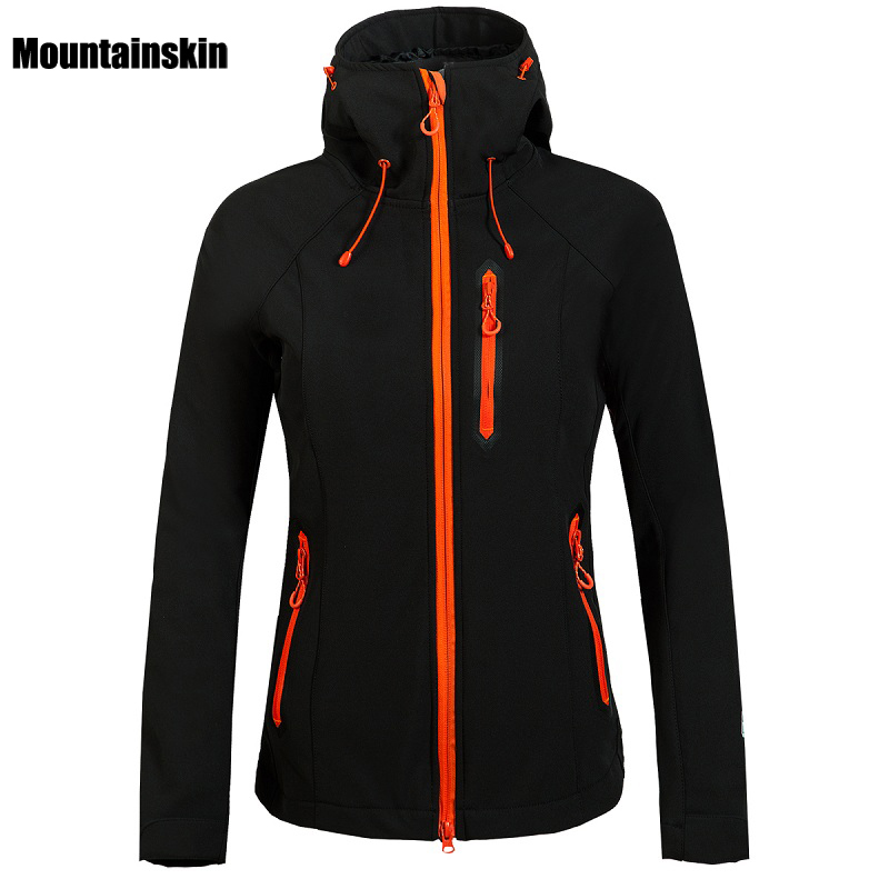 2017 Women Winter Fleece Softshell Jacket Outdoor Sport Mountainskin Waterproof Coats Hiking Skiing Camping Female Jackets VB027 стоимость