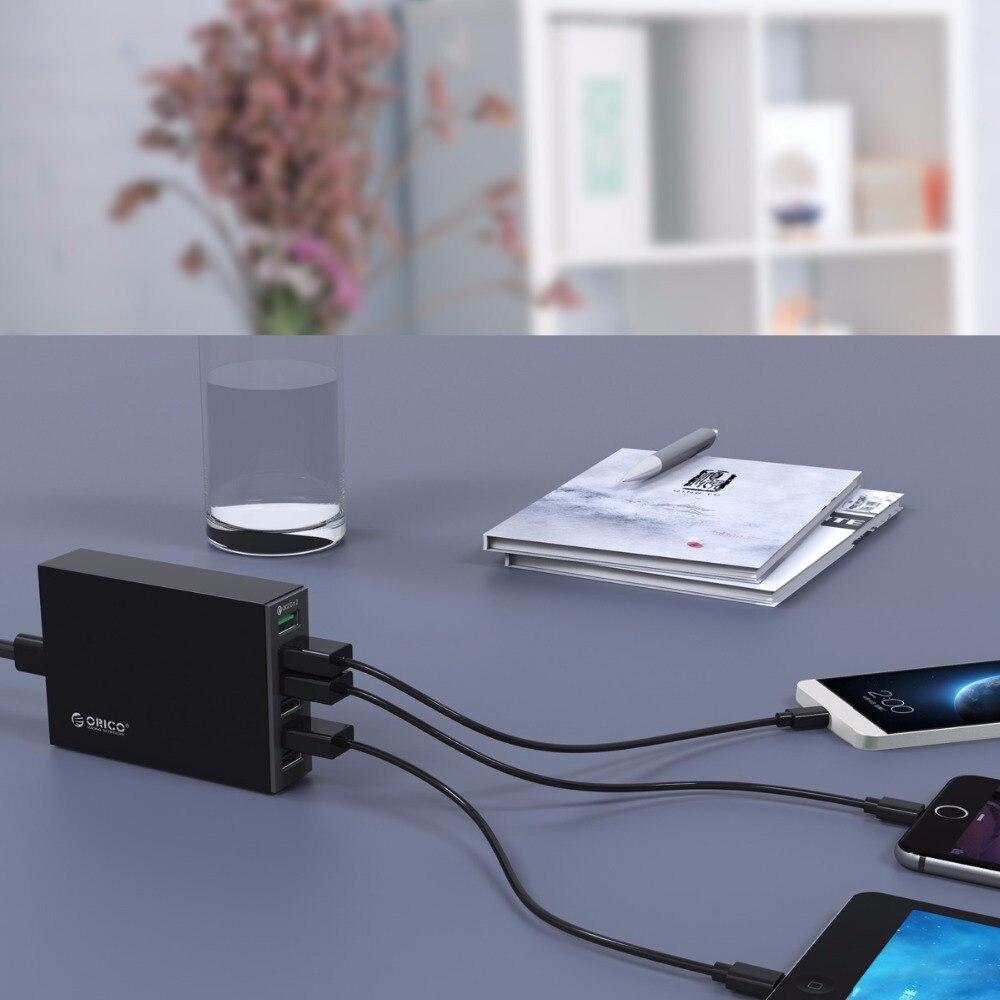 ORICO QSL-6U 6 Ports QC2.0 Rapide chargeur usb téléphone portable chargeur pour samsung Huawei LG Iphone Adaptateur UE/ÉTATS-UNIS/ROYAUME-UNI/AU plug - 4