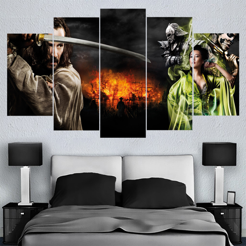 Home Decor Wall Art Classic Movie Ronin Canvas Paintings HD Printed Framed Or Unframed Canvas Painting For Bed Living Room
