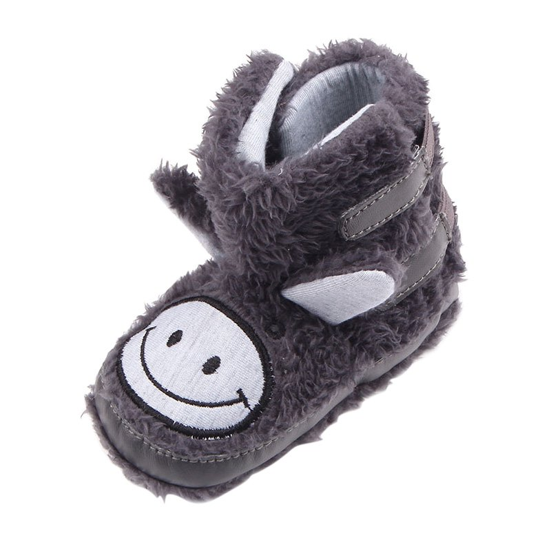 Newest Winter Warm Snow Infant Toddler Kids Shoes Baby Boys Girls Soft Sole Baby Shoes For Infants 0-12 M