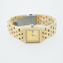 Square Shape Wooden Watch For Women