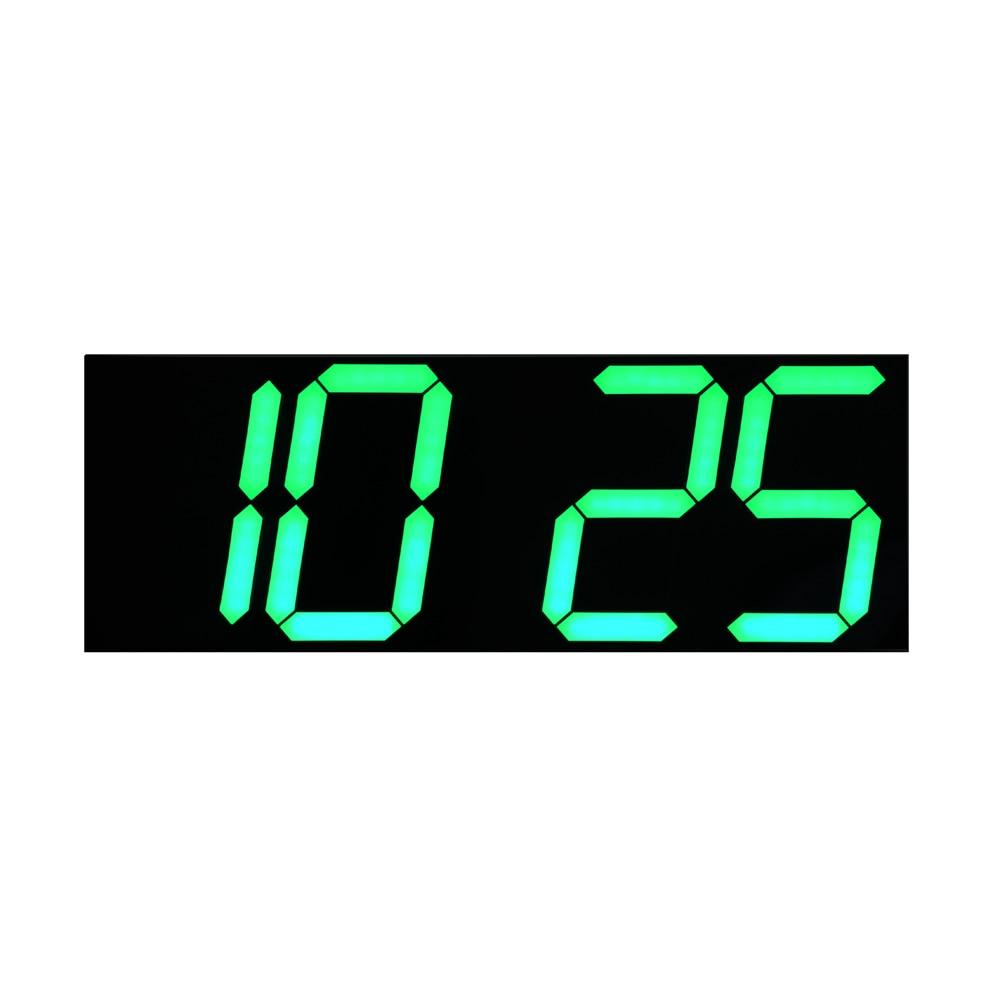 Yaşıl LED Təqvim Temperaturu Ekranı Uzaqdan İdarəetmə Sayı - Ev dekoru - Fotoqrafiya 3