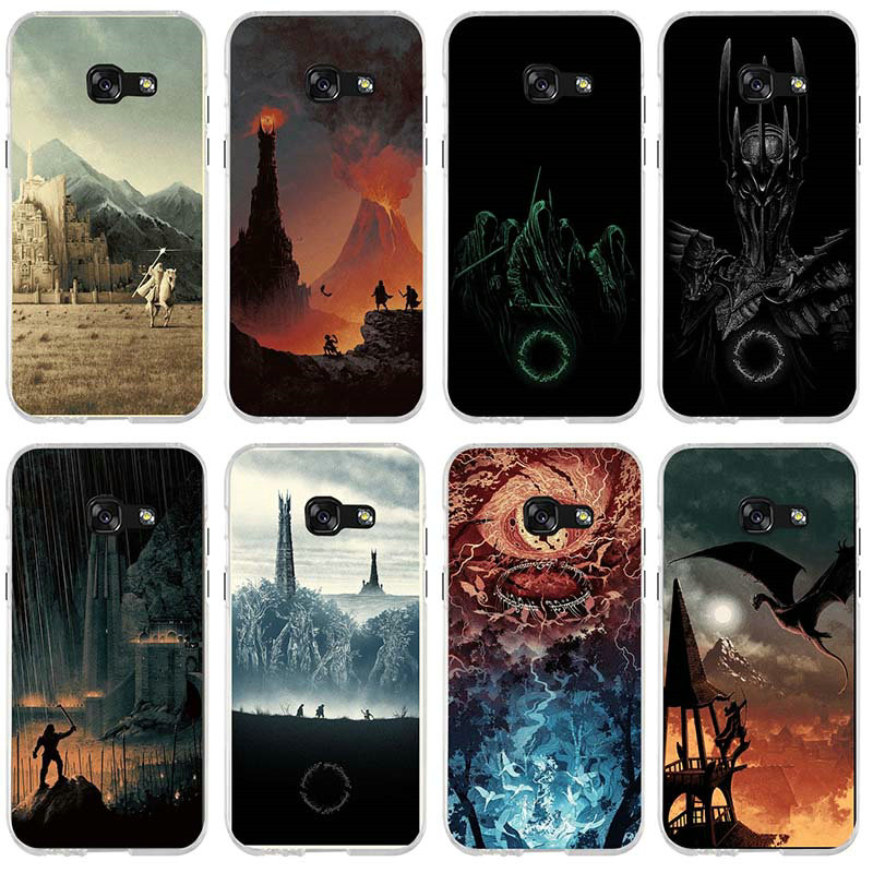 Soft tpu Mobile Phone Case for Samsung Galaxy A3 A5 A7 J1 J2 J3 J4 J6 J5 J7 J8 2016 2017 2018 The Lord of The Rings The one Ring image