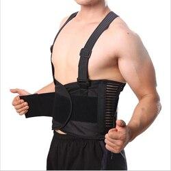 حزام تنفس مصحح لآلام الظهر مشد للرجال دعامة الظهر حزام الكتف دعم قطني Y001