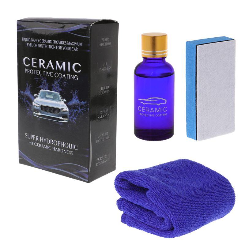 Quality Ceramic Car Coating Liquid Glass Waterproof Nano Ceramic Car Paint Care Anti-scratch Super Hydrophobic Glass Coating Excellent In