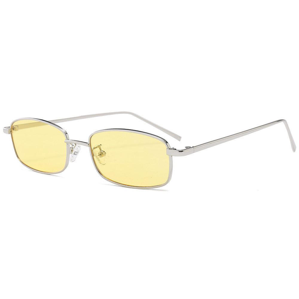 MARC UV400 WOMEN 2018 NEW Eyewear sunglasses Oculos sol gray gafas Fashion recommend Metal Square C in Women 39 s Sunglasses from Apparel Accessories