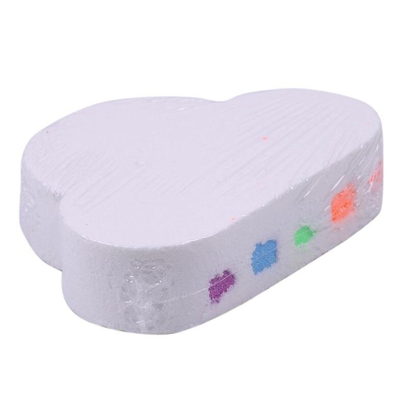 Rainbow Cloud Bath Bomb, Moisturizing Skin Care Natural Bath Fizzy Bath Salt Handmade Gift For Women, Mom, Girls, Kids