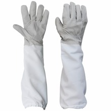 1 пара перчаток с защитными рукавами вентилируемые профессиональные анти пчела для пчеловода
