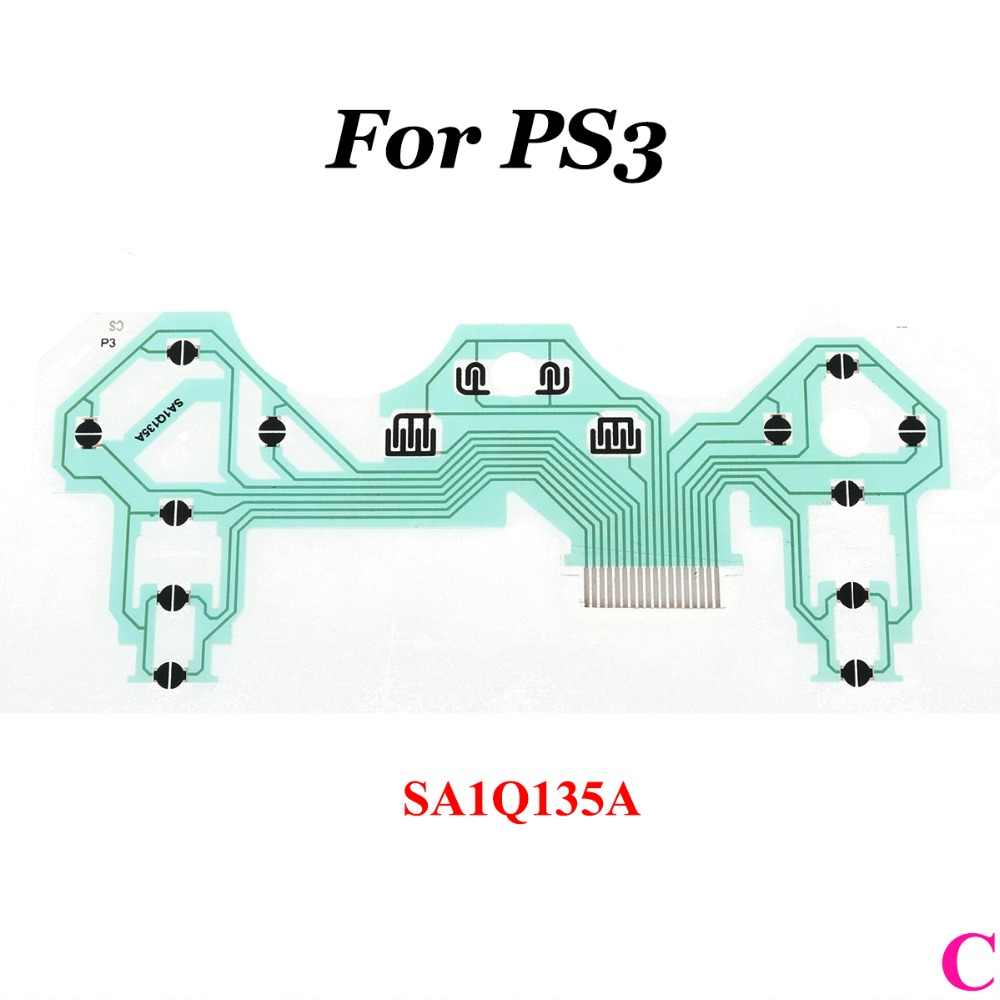 YuXi 50pc Conductive Film Circuit Board PCB Ribbon สำหรับ Sony PS3 จอยสติ๊ก Flex สาย SA1Q159A SA1Q160A SA1Q135A SA1Q194A SA1Q222A