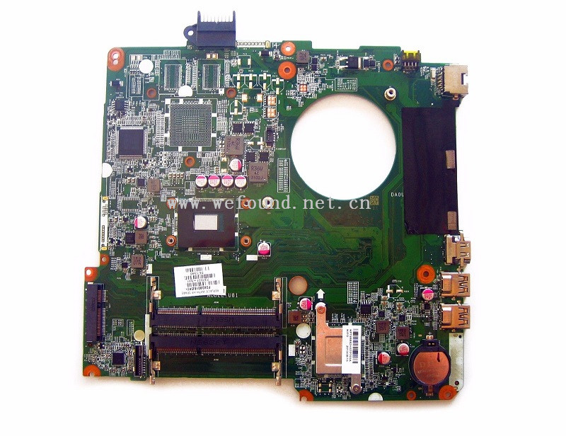 Laptop Motherboard For 737981-501 737981-001 737981-601 15-N 1007U DA0U81MB6C0 System Mainboard Fully Tested