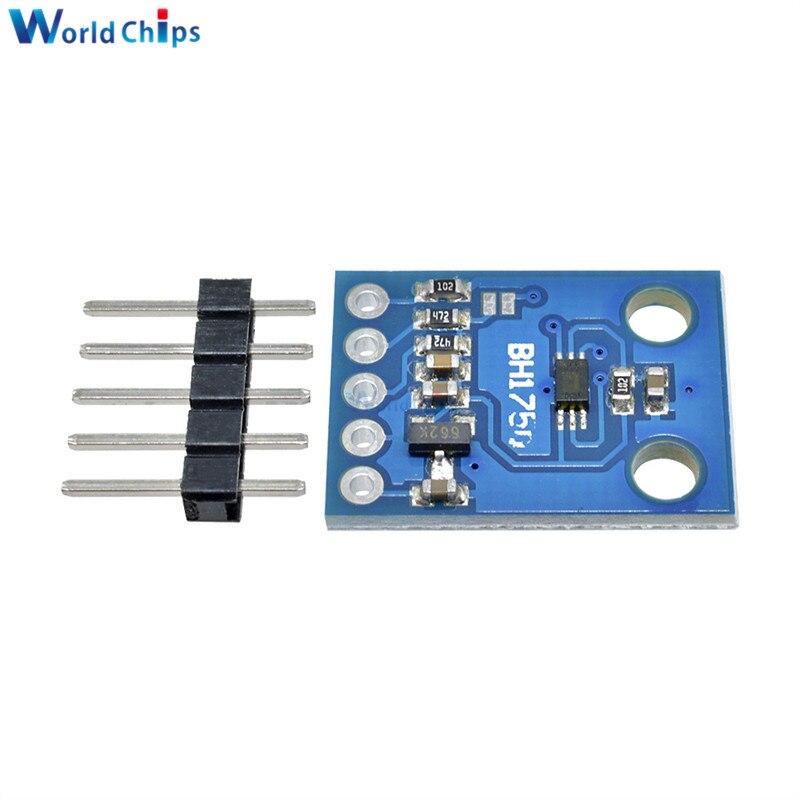10pcs BH1750 BH1750FVI Digital Light intensity Sensor Module For AVR Arduino