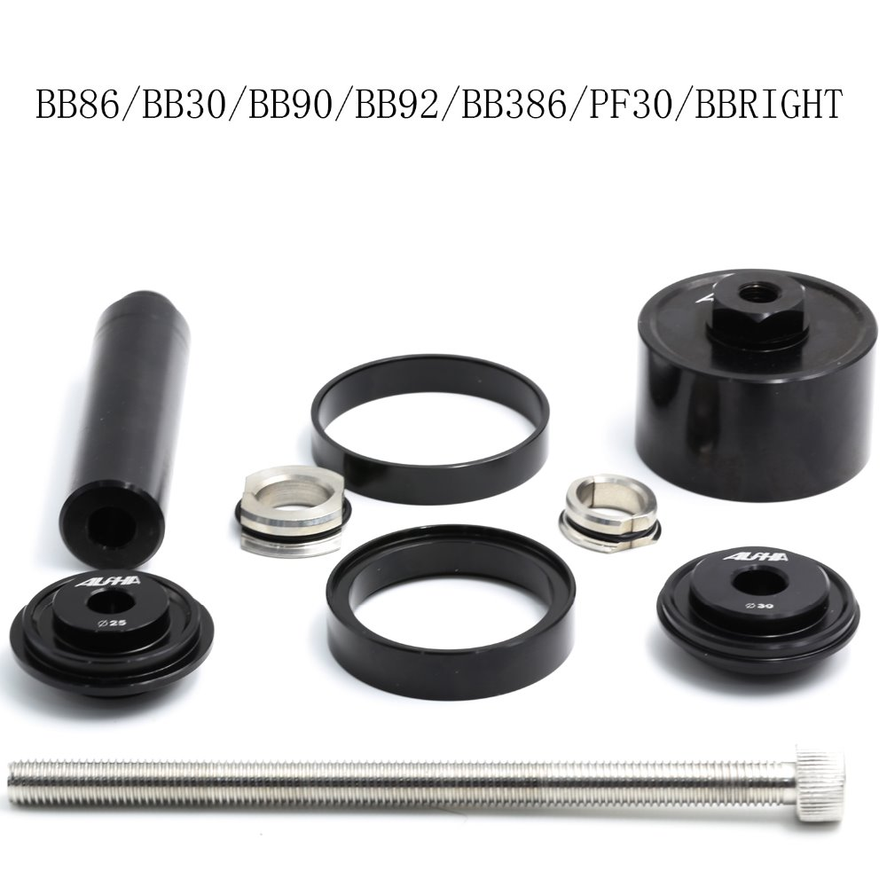 BB86/BB92/BB90 BB30/bb30a/pf30/bb386/bbright Bottom Bracket install and remove montar y desmontar tool road moutain bike