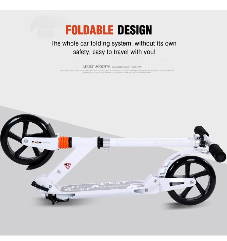 Scooter para crianças e adultos, scooter dobrável