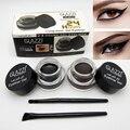 Pinceles de Maquillaje de Ojos profesional 24 Horas de desgaste Impermeable Negro Marrón Henna Color Cejas Gel Delineador de ojos Maquillaje Resistente Al Agua