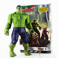 Hot 30 cm de Super Heróis Os Vingadores Hulk Toy PVC Action Figure Modelo Com Caixa