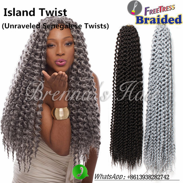 Crochet Twists With Kanekalon Hair | hairstylegalleries.com