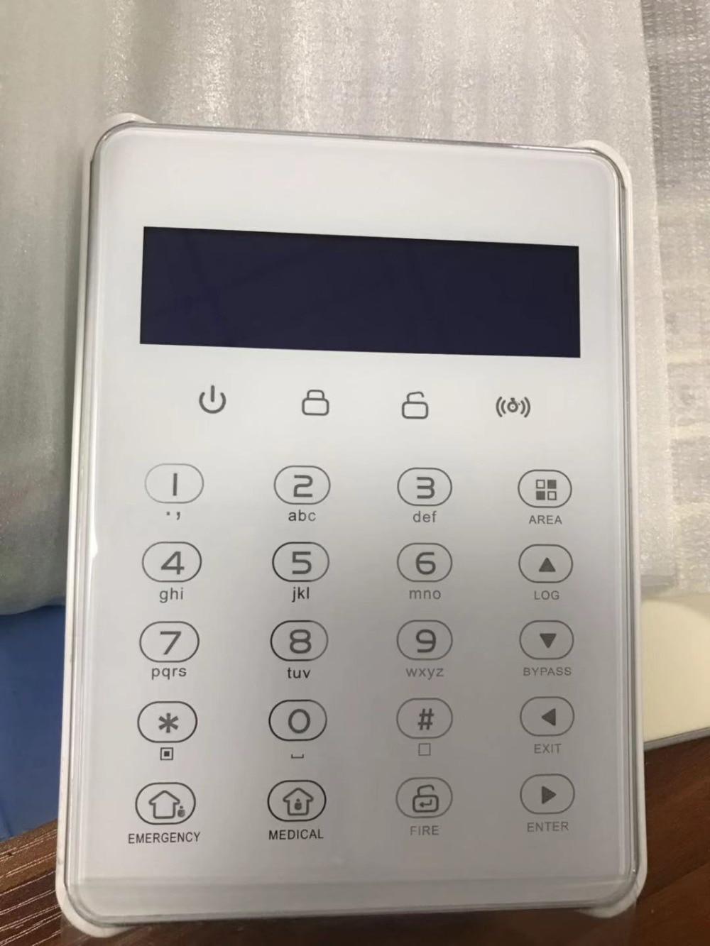 DIY FC 7688 Plus Verdrahtete Industrielle Rj45 TCP IP Alarm GSM Home Security Alarm Mit 96 Verdrahtet Smart Alarm System mit webIE Control - 4