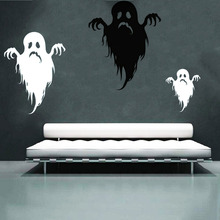 Sad Monsters Wall and Window Paperboard Stickers Halloween Decals