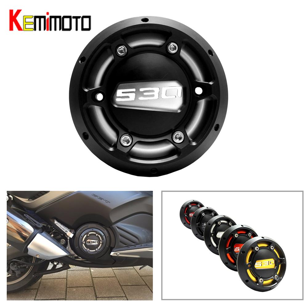KEMiMOTO TMAX 530 2013 2016 TMAX 500 Accessories Engine Stator Cover Protector For Yamaha T-MAX T Max 530 2012 - 2014 2015 2016