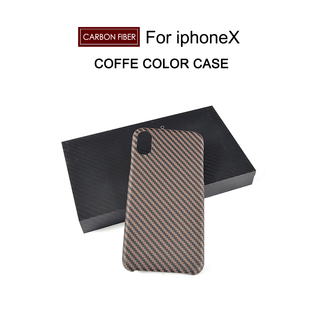 Carbon Fiber 4.7 5.5 inch Phone case Cover case for iphone X 7 PLUS case Mobile phone protection shell auto absorbed shell style dual window leather mobile casing for iphone 7 4 7 inch gold