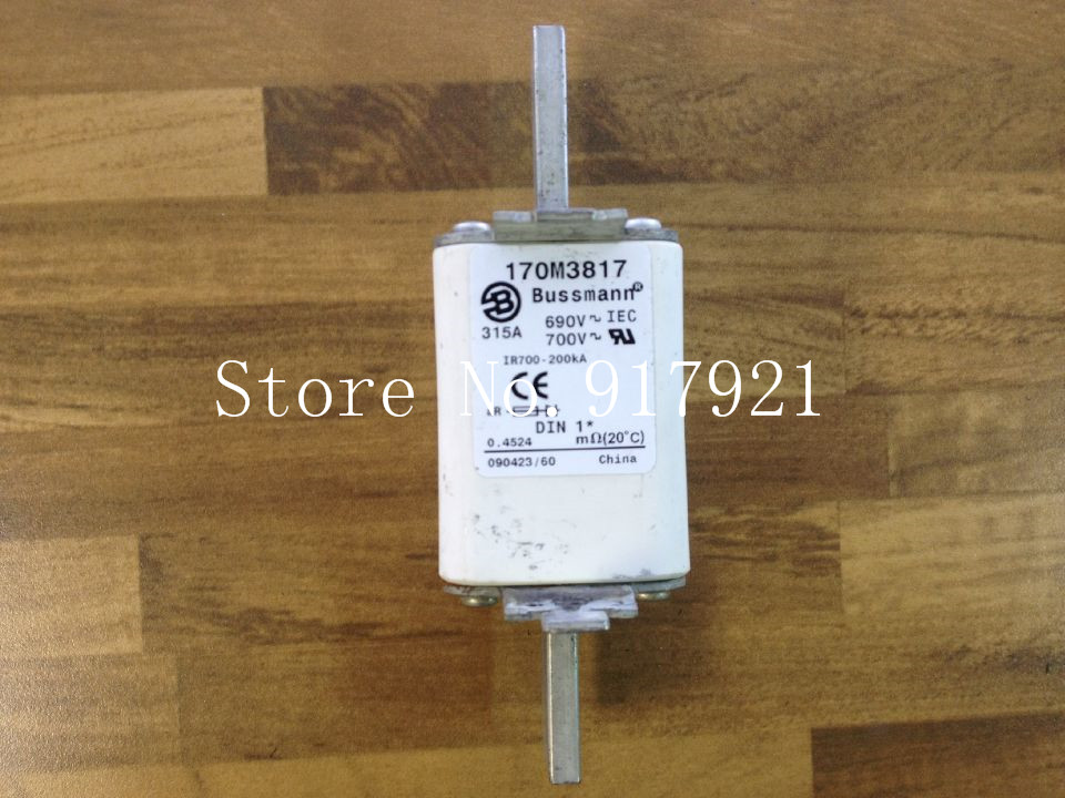 [ZOB] The United States Bussmann 170M3817 315A 690V fuse fuse original authentic rgs4b 315a fast fuse rgs4b 315a 660gh fast acting fuse