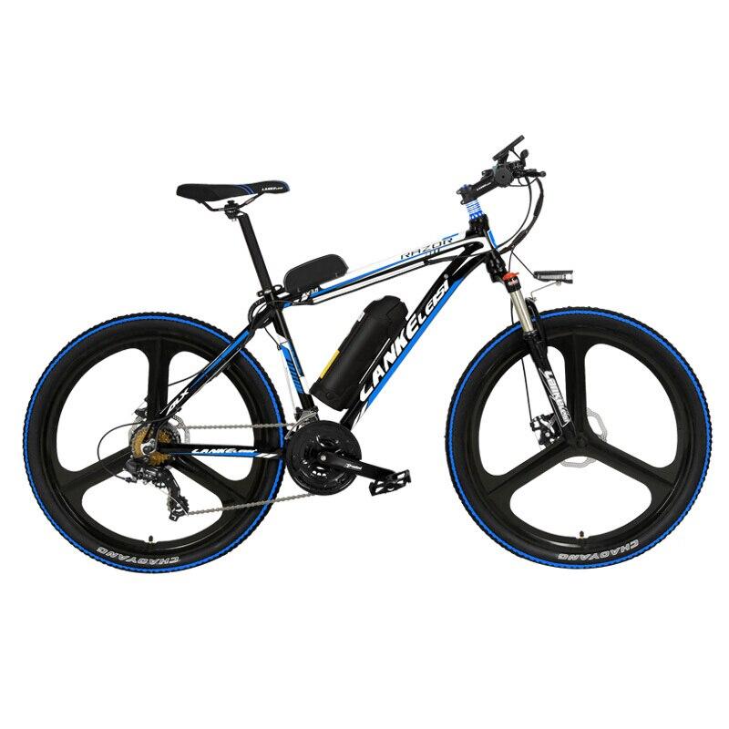 26 Cal 5 klasy pomóc 48V mocna bateria rower elektryczny, z ponad 3.5 Cal es duży komputer rowerowy, 7 prędkość rower górski
