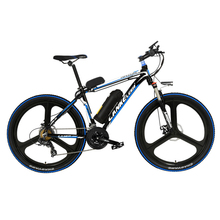 26 Inch 5 Grade Assist 48V Strong Battery Electric Bicycle,with 3.5 Inches Big