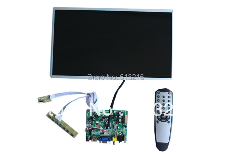 все цены на  HDMI  VGA AV LCD driver  board +LP140WH4-TLA1+LVDS cable+OSD keypad  with cable +Remote  control with receive  онлайн