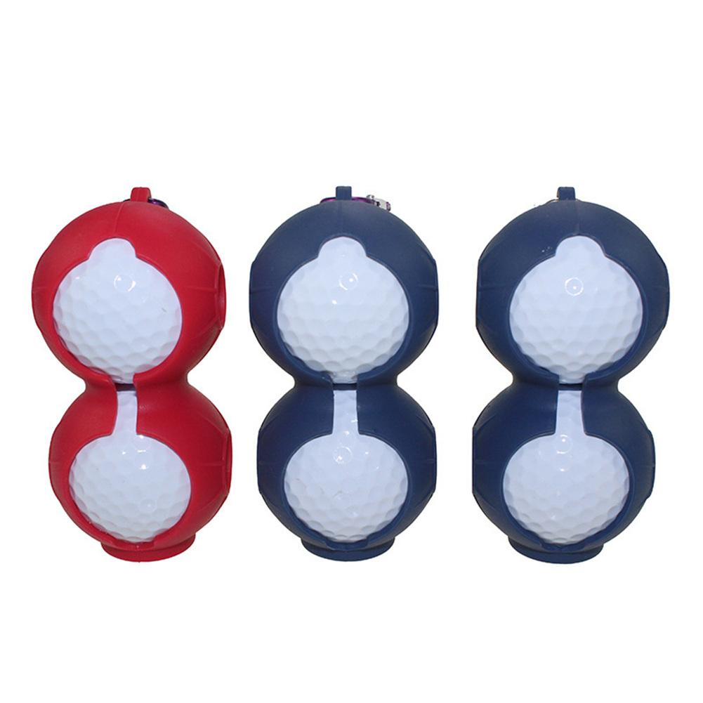 Golf Silicone Protective Cover Portable Random Color Delivery One Can Wear 2 Balls Accept Wholesale