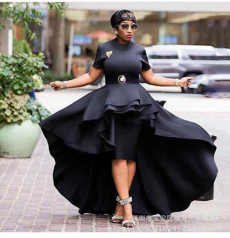 African Dresses For Women Clothes Vetement Femme 2019 Africa Dress African Ladies Clothes Traditional For Women Print Dress 2019