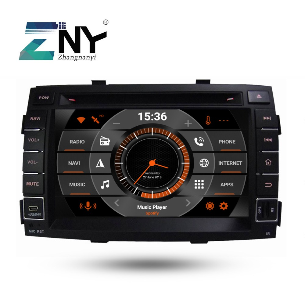 "7"" HD Android 9.0 Car DVD For Kia Sorento 2009 2010 2011 2012 Auto Radio FM Stereo WiFi GPS Navigation Audio Video Backup Camera"