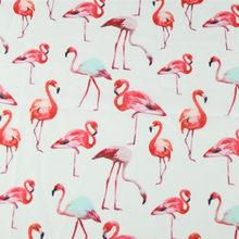 cc4d27fb933656 LEO LIN Africa Flamingo Chiffon Eugen Yarn White Red Children Polyester  Fiber Digital Printing Spot Fabrics 50cm