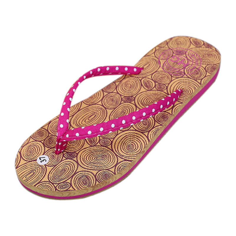 Women Girls Shoes Slippers Fashion Polka Dot Beach Shoes Women Summer Slippers Holiday Flip Flops Flat Shoes For Ladies Sandals hot fashion summer women shoes women s metal c flat sandals female summer slippers flip flops ladies beach sandals femme chinelo