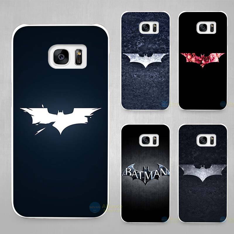 superhero batman hard white coque shell case cover phone. Black Bedroom Furniture Sets. Home Design Ideas