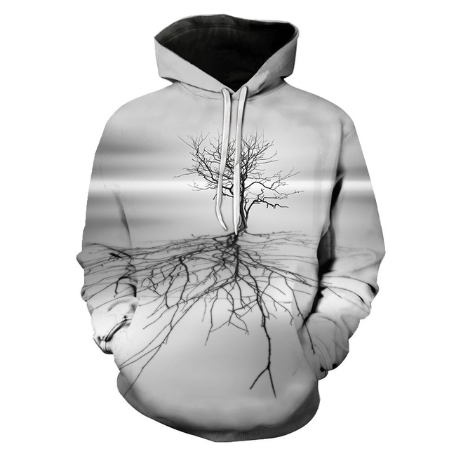 New brand hoodie streetwear hip-hop landscape harajuku hoodies men's and women's hoodies and s-6xl sweatshirts for 2018 Lady 4