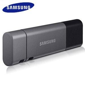 Image 1 - Samsung duo plus usb 3.1 flash drive, 32gb 64gb 128gb 256gb metal tipo c memory stick pendrive para smartphone tablet computador