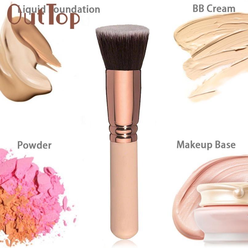 1PC Makeup Brush Cosmetic Brushes Face Nose BB Cream Powder Liquid Foundation Tool Makeup Base FEB8 цена и фото