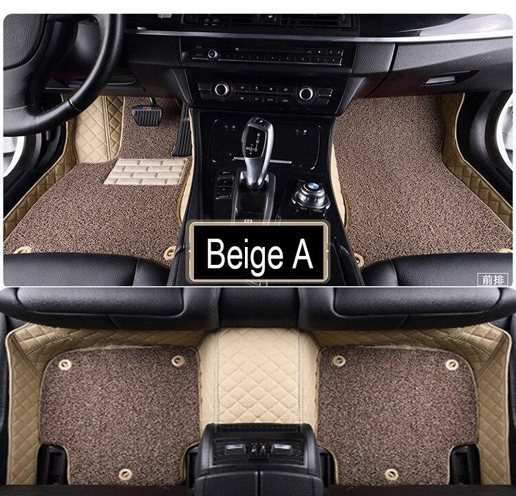 Tapis de sol de voiture pour Mercedes Benz G350 G500 G55 G63 AMG W164 W166 M ML GLE X164 X166 GL GLS 320 350 400 420 450 500 550 tapis