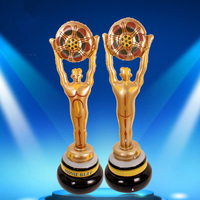 155cm Giant Inflatable Champion Trophy Oscar Model Prizes Gift Graduation/Birthday Decoration Prop Party Supply Children Toy