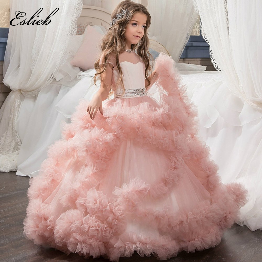 Dresses For Flower Girls For Weddings: Custom Made 100% Flower Girls Dresses For Weddings First