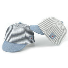 c1e07109c33 HPBBKD Cotton Infant Baby Hats Cute Casual Striped Soft Eaves Kids Baseball Cap  Baby Boy Girls Sun Protect Hat Caps XH-031