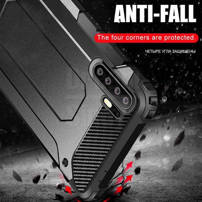 高級防具ソフトバンパーケース Huawei 社 P20 P30 プロ耐衝撃ケースカバー Huawei 社の名誉 8 × 9 10 20 メイト 20 Lite 電話ケース