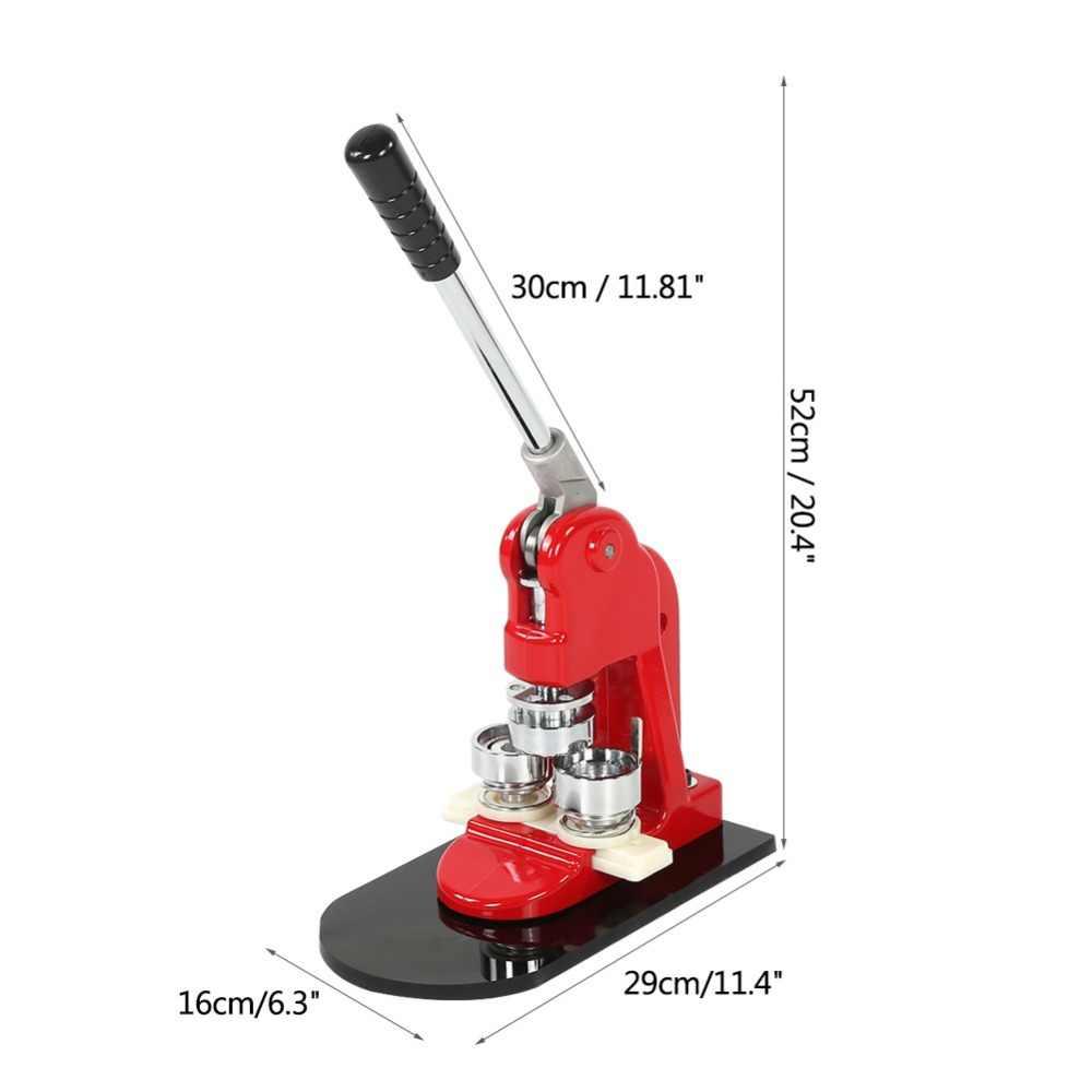 Dokładne oferty, 32mm przycisk ekspres do odznaka dziurkarka i 1000 części Cutter nowy