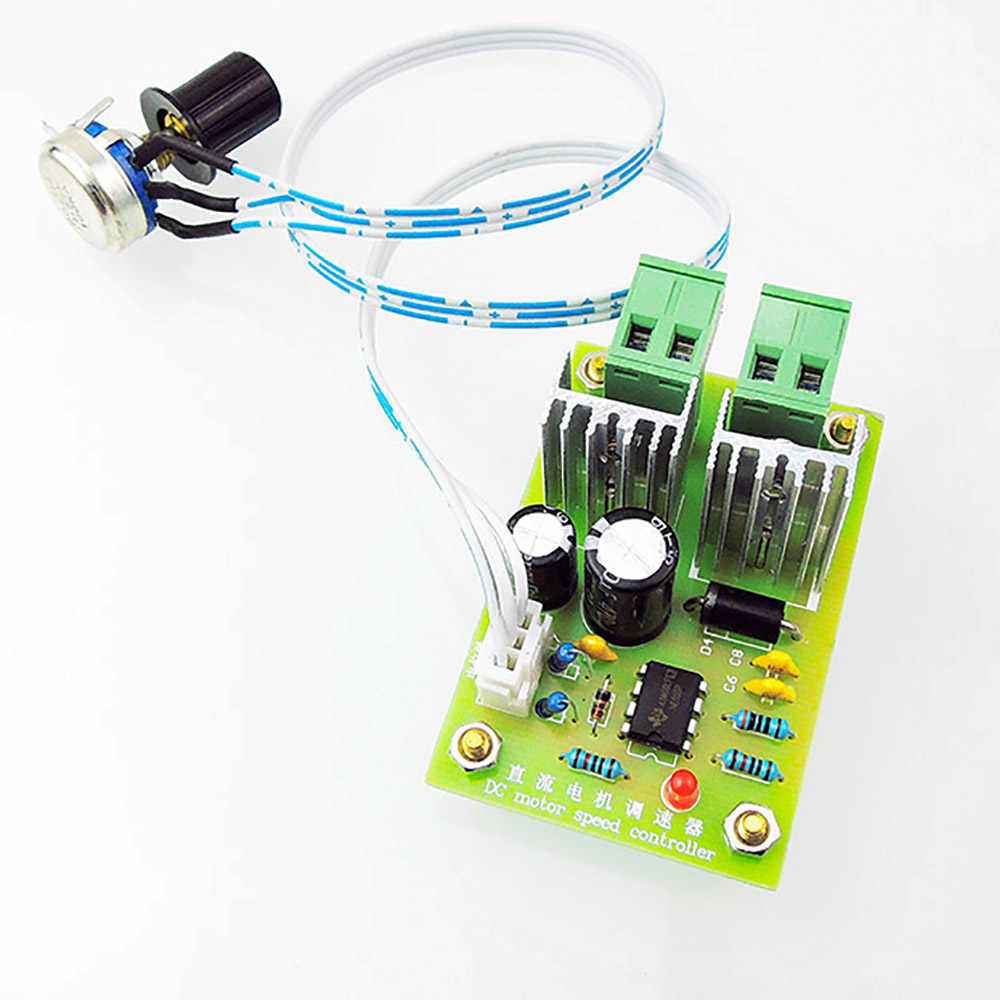 Detail Feedback Questions About 10pcs Lot 12v24v36v 10a Dc Motor Speed Controller Pwm Adjustable Driver Control 200w Governor