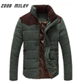 ZOOB MILEY Winter Jacket Men Plus Size M-4XL New Arrival Warm Casual Cotton Coats Long Sleeve Fashion Outerwear